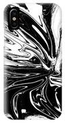 Licorice In Abstract IPhone Case
