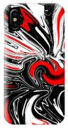 Licorice With Red Cherry IPhone Case