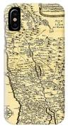Liebauxs Map Of The Holy Land 1720 IPhone Case