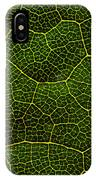 Life Grid In A Leaf IPhone Case