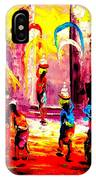 Life Near Temple IPhone Case