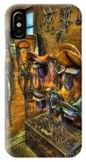 Life On The Ranch - Tack Room IPhone Case