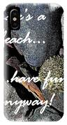 Lifes A Beach IPhone Case