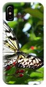 Light And Butterfly IPhone Case