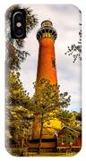 Light At Currituck IPhone Case