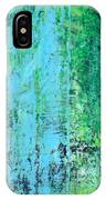 Light Blue Green Abstract Explore By Chakramoon IPhone Case