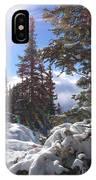Sunburst Banff Mountain Top Calgary Canada. IPhone Case
