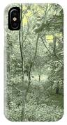 Light Forest Scene IPhone Case