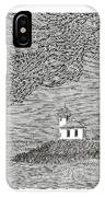Light House On San Juan Island Lime Point Lighthouse IPhone Case