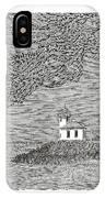 Light House On San Juan Island Lime Point Lighthouse IPhone Case