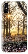 Light In The Trees IPhone Case