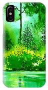 Light N Greens R IPhone Case