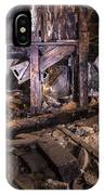 Light Painting In A Gold Mine 2 IPhone Case