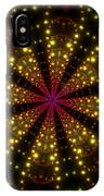 Light Show Abstract 3 IPhone X Case