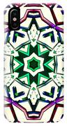 Light Wave Tunnel IPhone Case