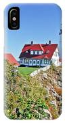 Lighthouse Of Maine IPhone Case