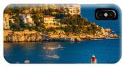Lighthouse On The Riviera IPhone X Case