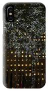 Lights In Rockefeller Center IPhone Case