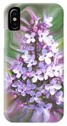 Lilac Abstract IPhone Case