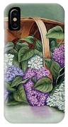 Lilac Basket IPhone Case