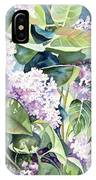 Lilac Delight IPhone Case