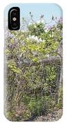 Lilac Fence II IPhone Case