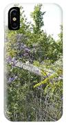 Lilac Fence IIi IPhone Case
