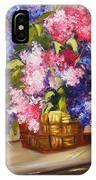 Rustic Lilac IPhone Case