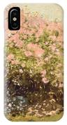 Lilac In The Sun, 1873 IPhone Case