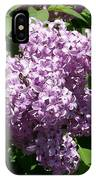 Lilac Ready For A Closeup IPhone Case