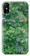 Lilac Season IPhone Case