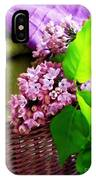 Lilac Still Life IPhone Case