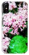 Lilacs After The Rain IPhone Case