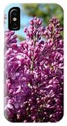 Lilacs- Horizontal Format IPhone Case