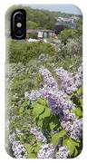 Lilacs On The Hill IPhone Case