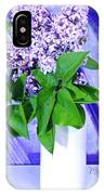 Lilacs With Abstract IPhone Case