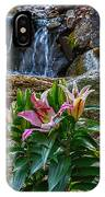 Lilies Of The Falls IPhone Case
