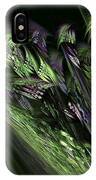 Lilies Of The Fractal Valley IPhone Case