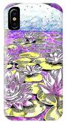 Lilies Of The Lake IPhone Case