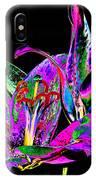Lilies Pop Art IPhone Case