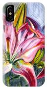 Lilies Twin IPhone Case