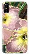Lillies Clothed In Glory IPhone Case