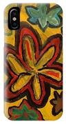 Lillies In Space IPhone Case