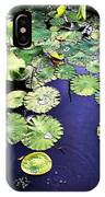 Lilly Pad IPhone X Case