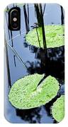 Lilly Pad Pond IPhone Case