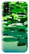 Lilly Pads Of Reelfoot Lake IPhone Case