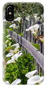 Lily Fence IPhone Case