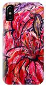 Lily Glow IPhone Case