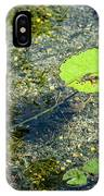 Lily Leafs On The Water IPhone Case
