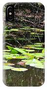 Lily Pads 1 IPhone Case
